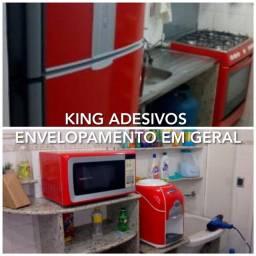 Envelopamento de geladeiras em domicílio 140 reais