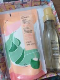 Kit hidratante e body splash