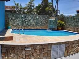 Casa Térrea Temporada em Caraguatatuba-Martim de Sá com piscina e churrasqueira