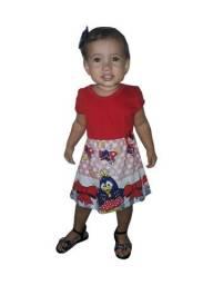 Kit 60 lindo vestidinho infantil atacado