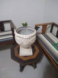 Vaso Decorativo de Fibra de Vidro
