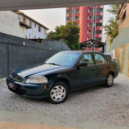 Honda Civic Lx 1.6 completo 2° dono raridade