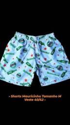 Shorts Mauricinho R$ 40,00 no dinheiro