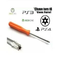 Chave Torx T8 Com Furo