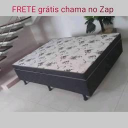 Cama box CASAL Carreto Grátis