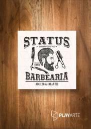 Status barbearia