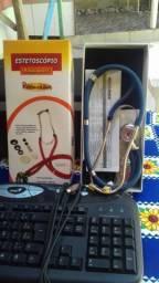 Vendo objetos: fogão, compurador completo e um estetoscópio