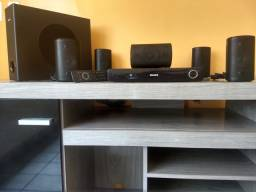Home Theater<br> Philips com DVD