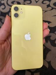 iPhone 11 sem nenhuma marca de uso, semi novo.
