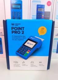 Maquina de Cartão Point Pro 2 - BOBINAS E PLANO 3G GRÁTIS.