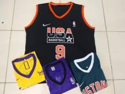 Camisa basquetebol tamanhos P ao G2