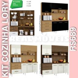 Armário de cozinha lory armário de cozinha lory R$689 0102020