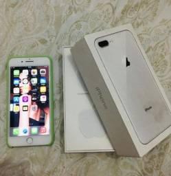 iPhone 8 Plus - 256gb Branco.
