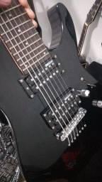 Guitarra LTD M17v  Blk  7 cordas