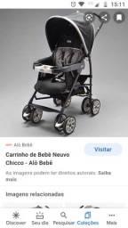 Vendo carrinho bebê Chicco usado