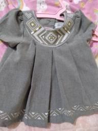 Vestido infantil da tahari baby