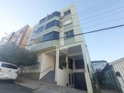 Apartamento com 2 dormitórios, sala, cozinha, 1 banheiro, área de serviço e garagem.
