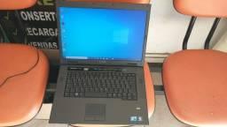 notebook dell core 2 duo 4 gb hd 320 gb tela de 15.4 formatado