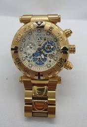 Relógio Invicta Subaqua Noma I - Mod. 24989 - Banho a Ouro - Original