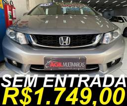 Honda Civic Lxr 2.0 Flex 2016 Aut. Único Dono