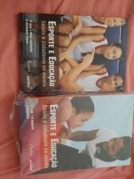 Livros de esporte e educação