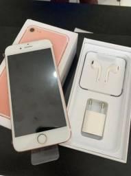 iPhone 7 128GB Rose ( novo na caixa )