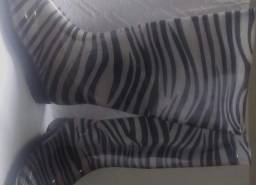 Galocha Zebra Modelo Italiano Num 37 - Semi Nova