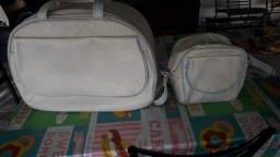 Bolsa mala + bolsa lateral  maternidade