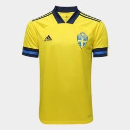 Camisa time seleção Suécia 20/21