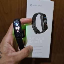 Relógio Amazfit Band 5 Alexa Oxímetro Versão Global Original