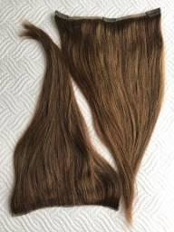 Mega Hair - Cabelo Humano com Tic Tac