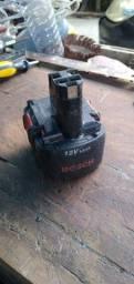 bateria parafusadeira black Decker 12v