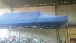 Tenda sanfonada 3X6 m
