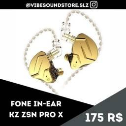 KZ ZSN PRO X GOLD | MONITORAMENTO
