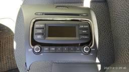 Rádio automotivo Kia Cerato 2014 a 2017 com Bluetooth