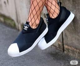 Tênis Adidas Slip On Unissex Super Lindo e Confortável
