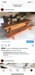MESAS DE MADEIRA SOB ENCOMENDA