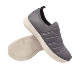 Tênis feminino calce fácil meia slipper on barato boreal