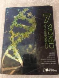 Livro em ótima conservação! Companhia das ciências 7 ano