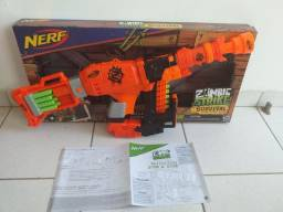 Nerf: Super Arma Nalibetter(Com acessórios completa)