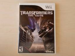 Transformers jogo game Nintendo Wii dvd original Optimus prime videogame