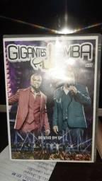 DVD ORIGINAL - GIGANTES DO SAMBA