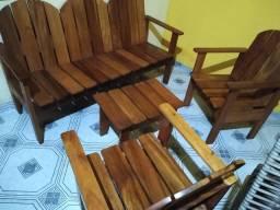 Jogo de cadeiras - 500,00