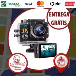 Câmera Filmadora Esporte Action Sport Cam 4k Wifi