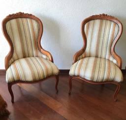 Cadeira Luís XV Vitoriana