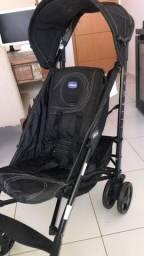 Carrinho de bebê Chicco Liteway Preto - R$ 750,00