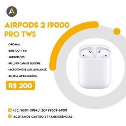 Fone Bluetooth i9000s TWS Earphone Air pods 2