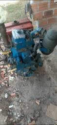 Motor mwm 1 cilindro estacionario