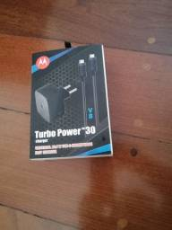 Carregador Turbo Power Original da Motorola