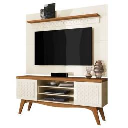 Bancada Lis c/ Painel Win New ? Frade Movelaria ? Off White/Coral